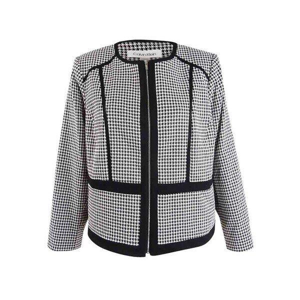 Calvin-Klein-Women's-Plus-Size-Houndstooth-Jacket-(24W,-Black-Cream) (1)