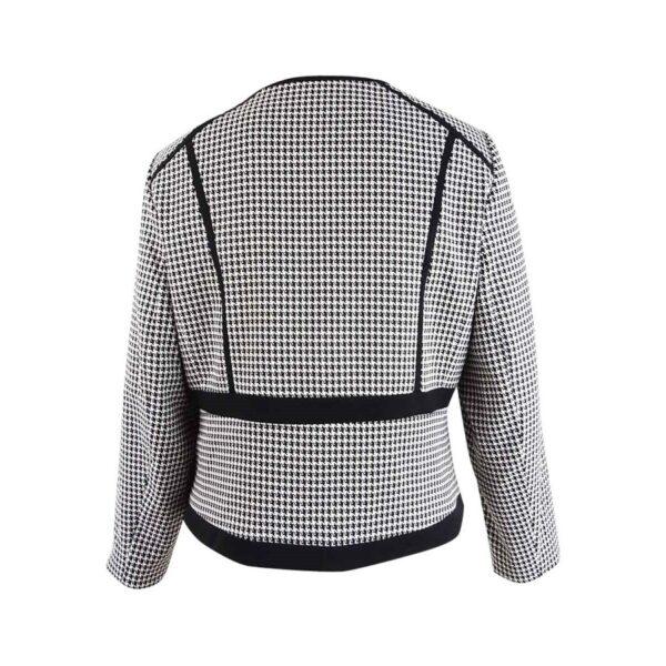 Calvin-Klein-Women's-Plus-Size-Houndstooth-Jacket-(24W,-Black-Cream)