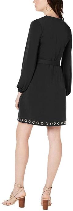 Screenshot_2021-02-18 Michael Kors Womens Grommet Detail A-line Dress, Blue, PS at Amazon Women's Clothing store(6)